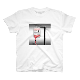 輸血Tシャツ T-shirts