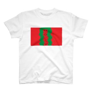 すいかパーマ T-shirts