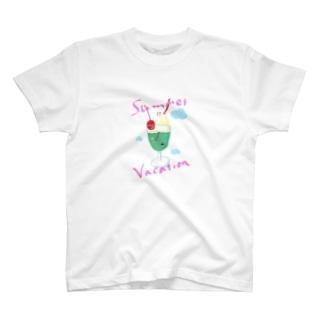 しゅわしゅわな夏 T-shirts