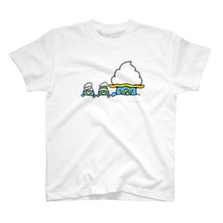 バブールと双子 T-shirts