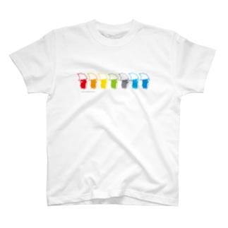 バブールカラフル T-shirts
