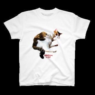 ラヴ&ピース川津のSHIMA chang the CAT2 T-shirts