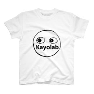 カヨラボ スズリショップのKayolabくん T-shirts