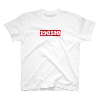 バースデーアピール1985年10月 T-shirts