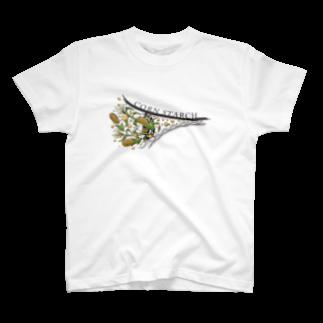 aoiroradioの【段ボール業界T】コーンスターチ T-shirts