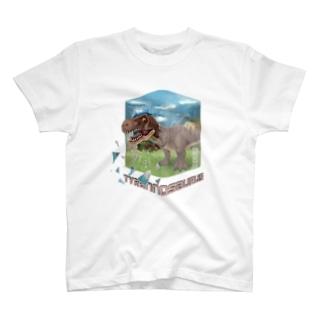 ティラノサウルス T-shirts