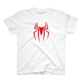 スパイダーロゴ T-shirts
