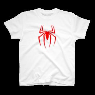 のすのスパイダーロゴ T-shirts