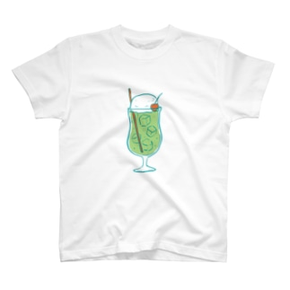 レトロクリームソーダ T-Shirt