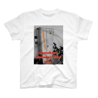 どこでも掃除用具入れ T-shirts