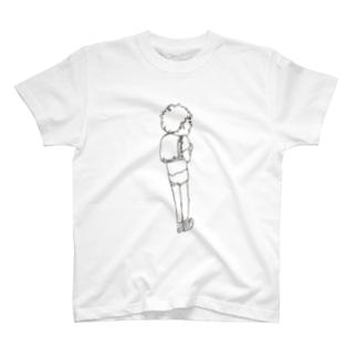 ランドセルとハミケツ T-shirts