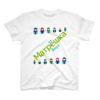 Matryoshkaboys T-shirts
