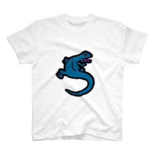 いい気分のトカゲ T-Shirt