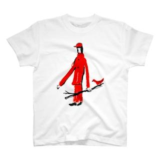 とりと散歩道 T-shirts
