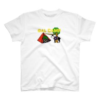 女子キャンプ T-shirts
