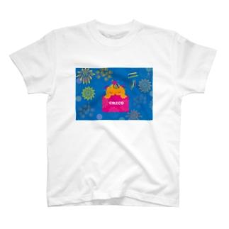 クレコちゃんの花火の夜の夢 T-shirts