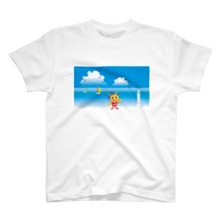 クレコちゃんの夏の海 T-shirts