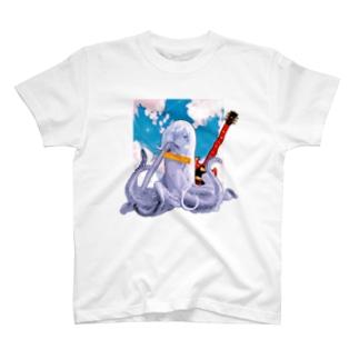 ロックタコ少女(B02)002  T-Shirt