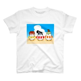 夏のヤンハム T-shirts