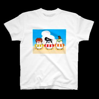 Piso Store on Suzuriの夏のヤンハム Tシャツ