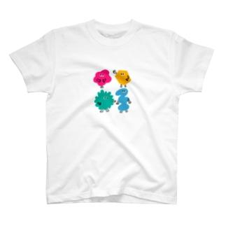 カタチ集合 T-shirts