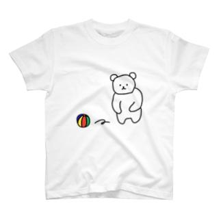 しろくまん T-shirts
