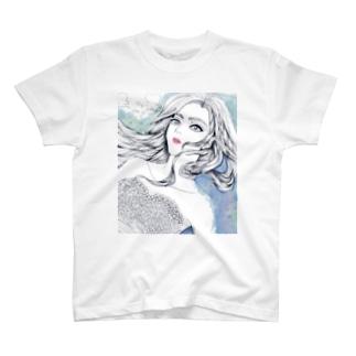 花嫁と深海 T-shirts
