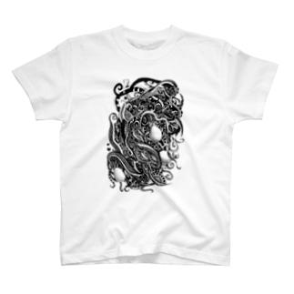 廻る蛇 T-shirts