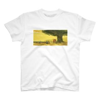 午後のパドリング T-shirts