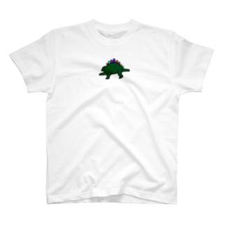 kurubusiの恐竜くん T-shirts