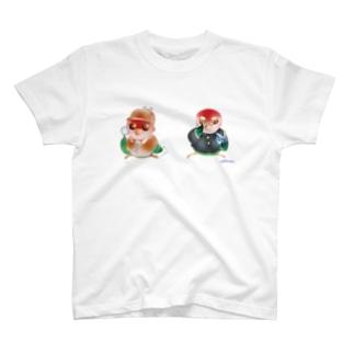 探偵&学生いんこ T-shirts
