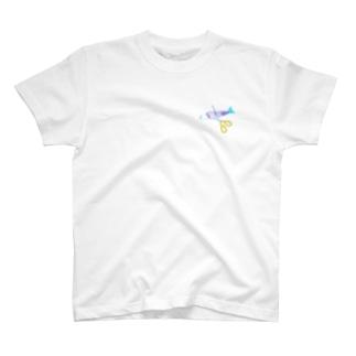 魚を切ります T-shirts