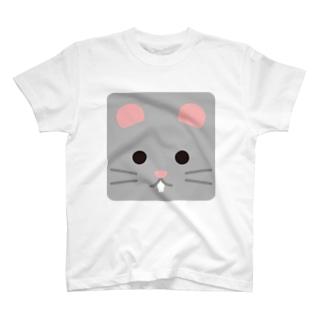 干支-子-animal up-アニマルアップ- T-shirts