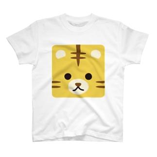 干支-寅-animal up-アニマルアップ- T-shirts
