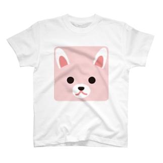 干支-卯-animal up-アニマルアップ- T-shirts