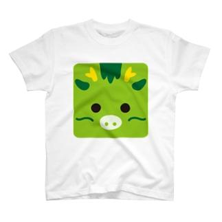 干支-辰-animal up-アニマルアップ- T-shirts