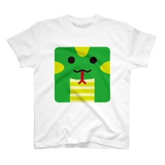 干支-巳-animal up-アニマルアップ- T-shirts