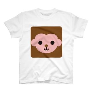 干支-申-animal up-アニマルアップ- T-shirts