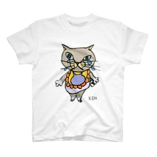NEKO KEN あかちゃんネコTシャツ T-Shirt