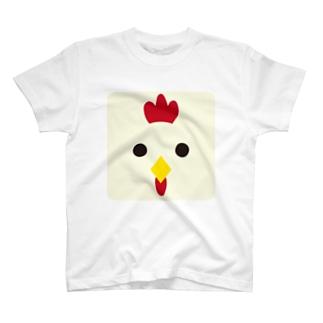 干支-酉-animal up-アニマルアップ- T-shirts