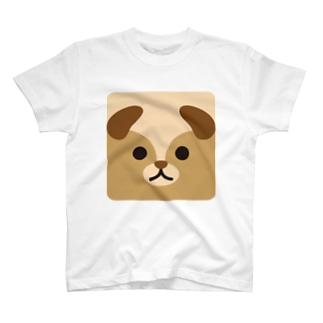 干支-戌-animal up-アニマルアップ- T-shirts