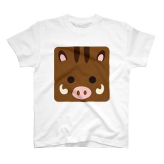 干支-亥-animal up-アニマルアップ- T-shirts
