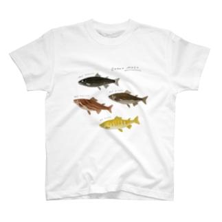 カカオマス4兄弟 T-shirts