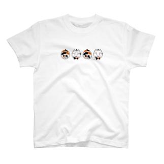 ニャーたま(三毛) T-shirts