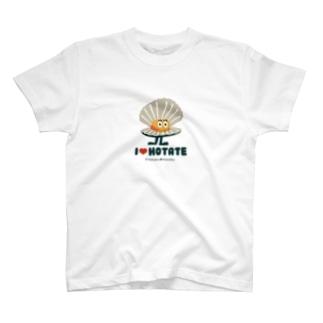 ほたてんてん 東北☆家族 T-shirts