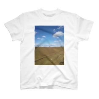 晴天(うまちゃん) T-shirts