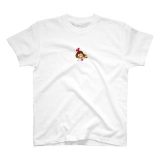 花束リボンちゃん Tシャツ