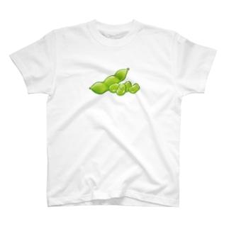 榎木ゆきのにくらしいえだまめ その2 T-shirts