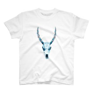 動物の骨 T-shirts