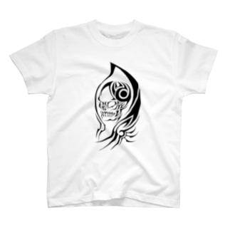 トライバル死神 T-shirts